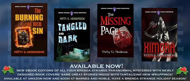 Brenda Strange series by Patty G. Henderson, #supernatural #mystery #lesfic #lgbtfiction
